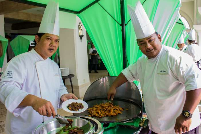 Left to Right_ Chef Azmin and Chef Abu Zaren