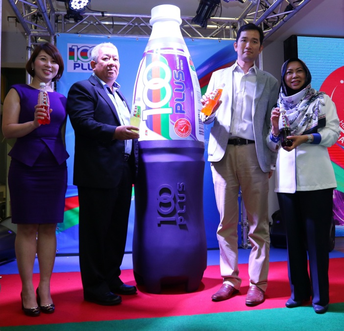 New 100PLUS Blackcurrant Launch Photo