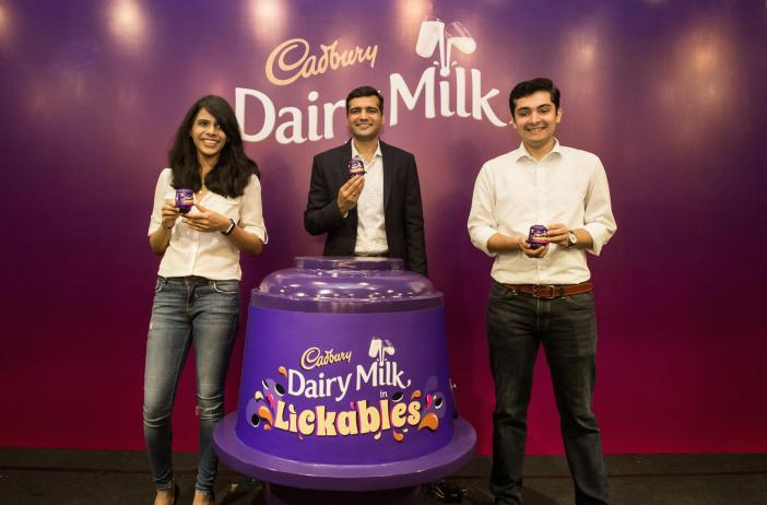 _[L-R] Nisha Nair (Mondelēz International Brand Manager of Chocolate), Vikram Karwal (Mondelēz International Associate Director of Southeast Asia, Chocolate) and Nikhil Nicholas, (Mon