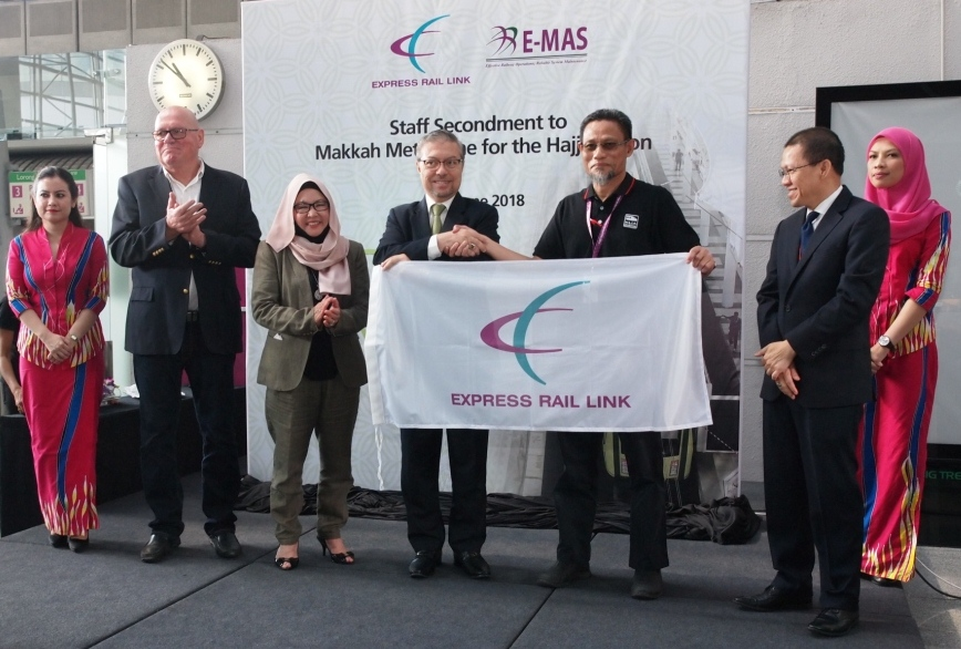 33 ERL and E-MAS Staff off to Saudi Arabia to Support Makkah Metro