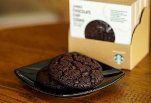 Starbucks Jumbo Chocolate Chip Cookies