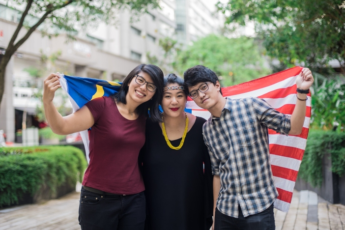 Co-Founders of The Rojak Projek, Rachel Lee, Faye Lim and Jon Cool