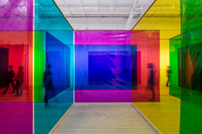 Olafur Eliasson,Seu corpo da obra (Your body of work) 2011