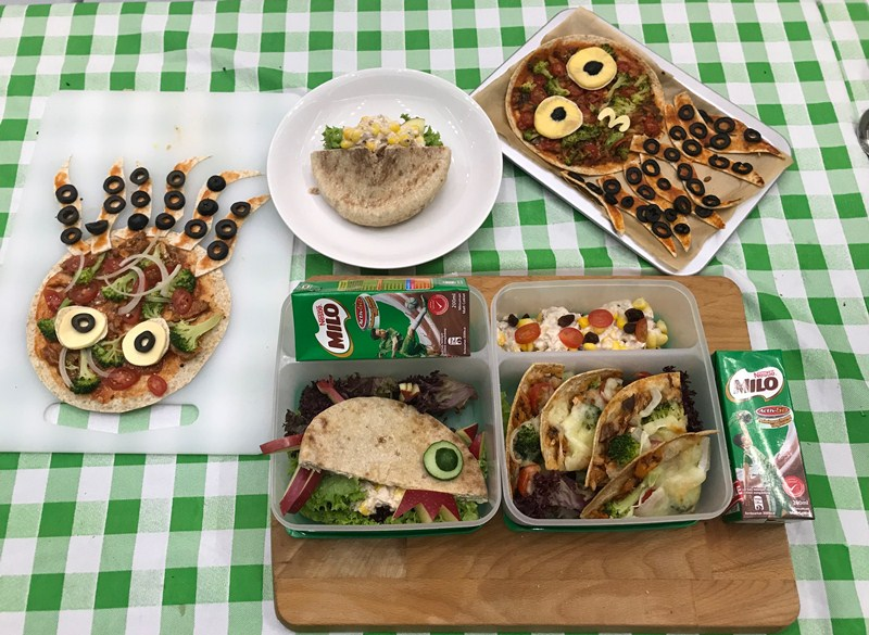 milo® pack in the energy for champions bento box worksop 11