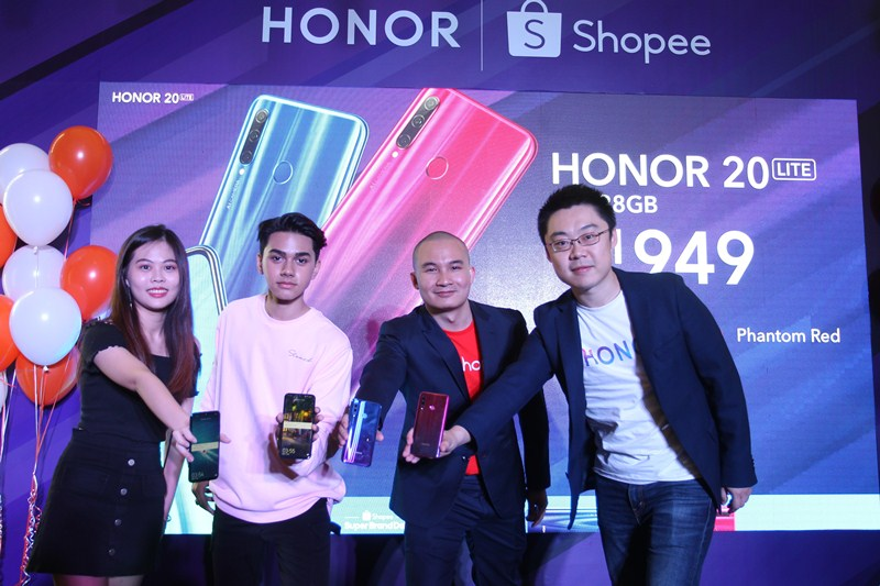 HONOR 20 Lite launch