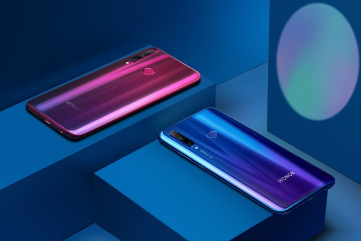 HONOR 20 Lite Phantom Blue & Phantom Red
