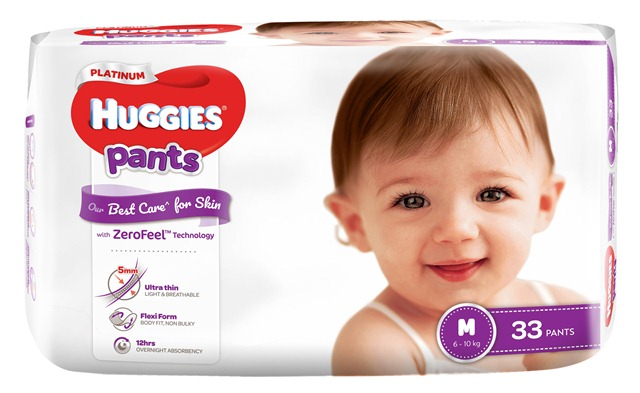 Huggies Platinum with ZeroFeel Technology