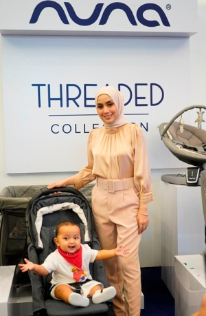 Malaysian celebrity Mia Ahmad at the launch of Nuna - The Threaded Collection