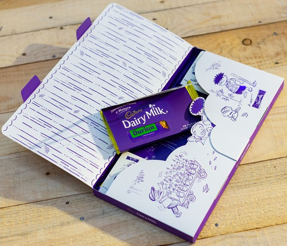 Limited-Edition gift boxes Cadbury Dairy Milk Durian