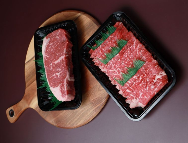 Aust Black Angus Striploin and Aust Beef Shabu-Shabu (2)