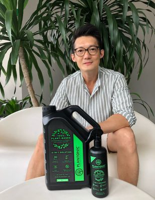 Eric Tan, CEO and Founder of Plantonic copy
